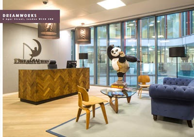 Bluu Case Studies including Dreamworks